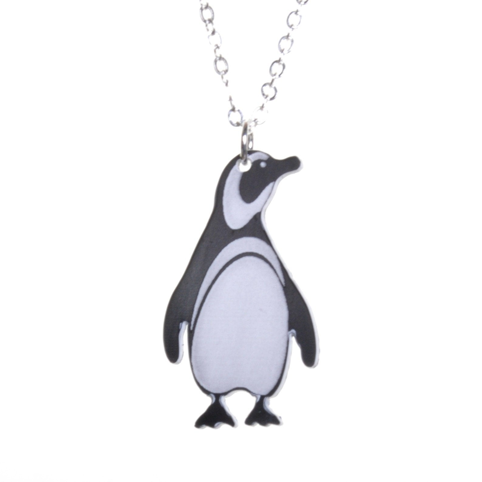 Acrylic Penguin Necklace by Love Boutique - Minimum Mouse