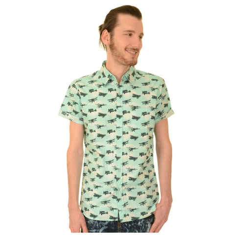 Aeroplane Print Shirt by Run and Fly - Minimum Mouse