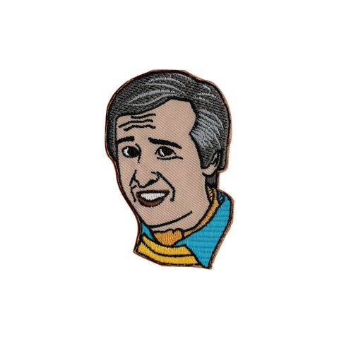Alan Partridge Iron On Patch - Minimum Mouse