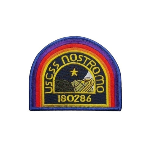 Aliens USCSS Nostromo Iron On Patch - Minimum Mouse