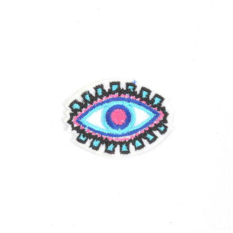 All Seeing Eye Iron On Patch - Minimum Mouse