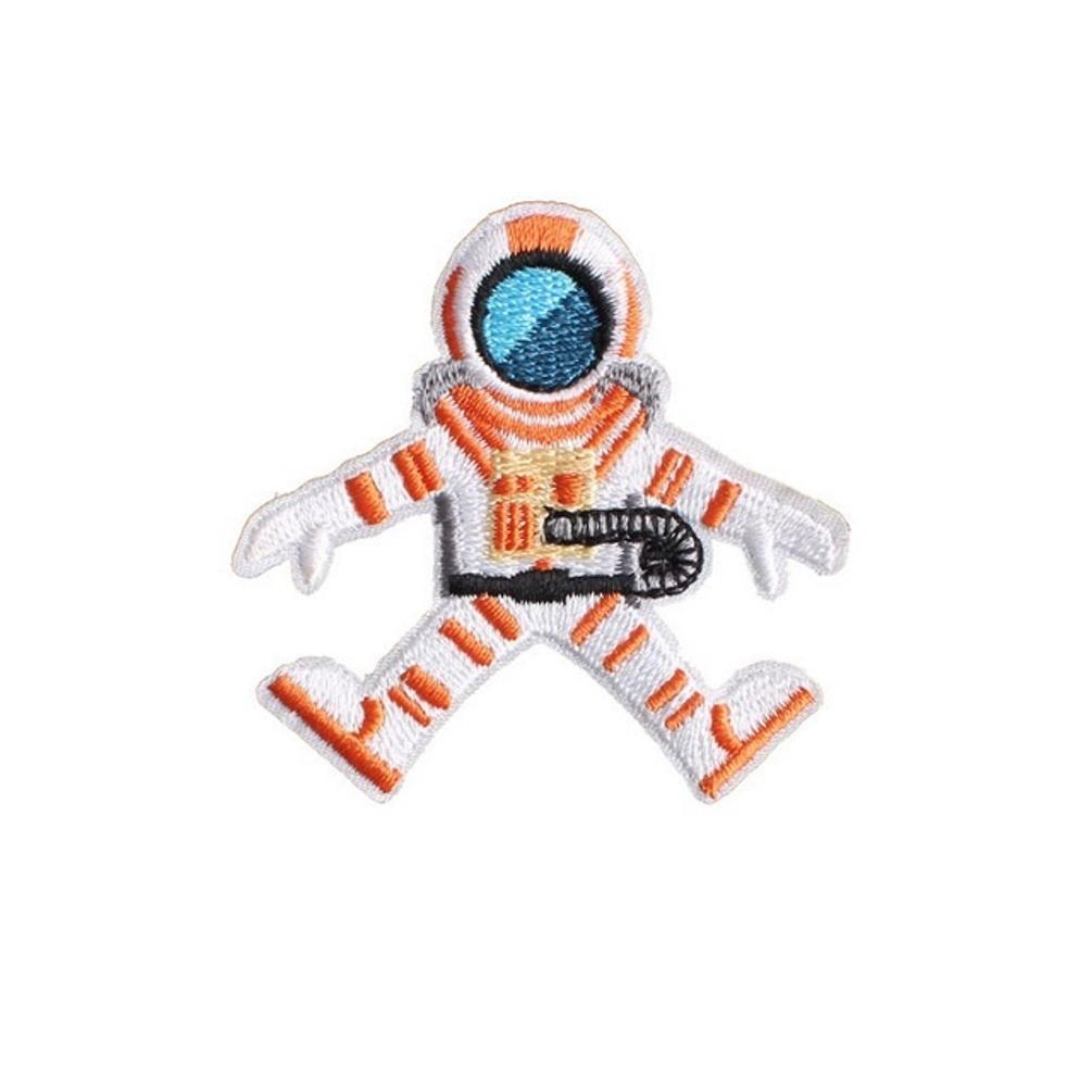 Astronaut Iron On Space Patch - Minimum Mouse