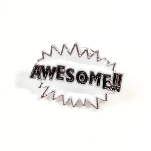 Awesome!! Enamel Lapel Pin Badge - Minimum Mouse