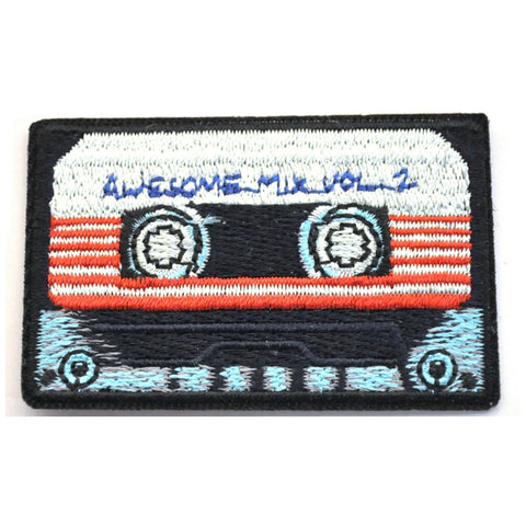 Awesome Mix Tape Guardians Of The Galaxy Iron On Patch - Minimum Mouse