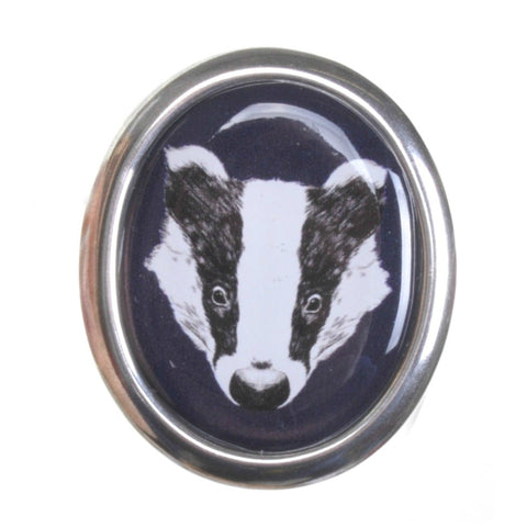 Badger Brooch by Love Boutique - Minimum Mouse