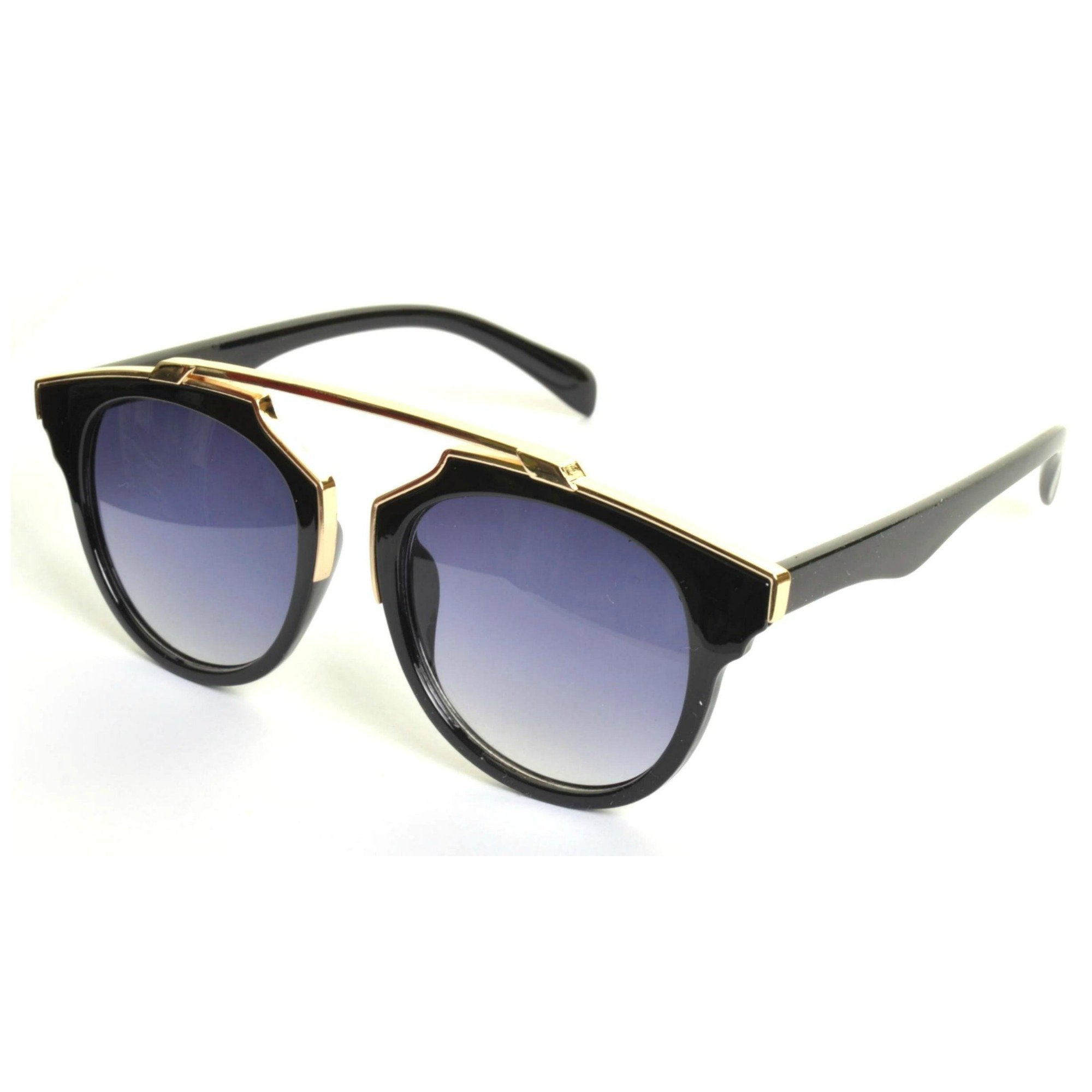 BAILEY Metal Top Brow Bar Sunglasses - Minimum Mouse