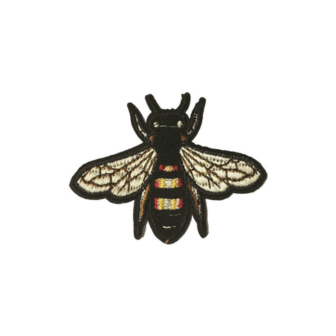 Bee Iron On Patch - Minimum Mouse