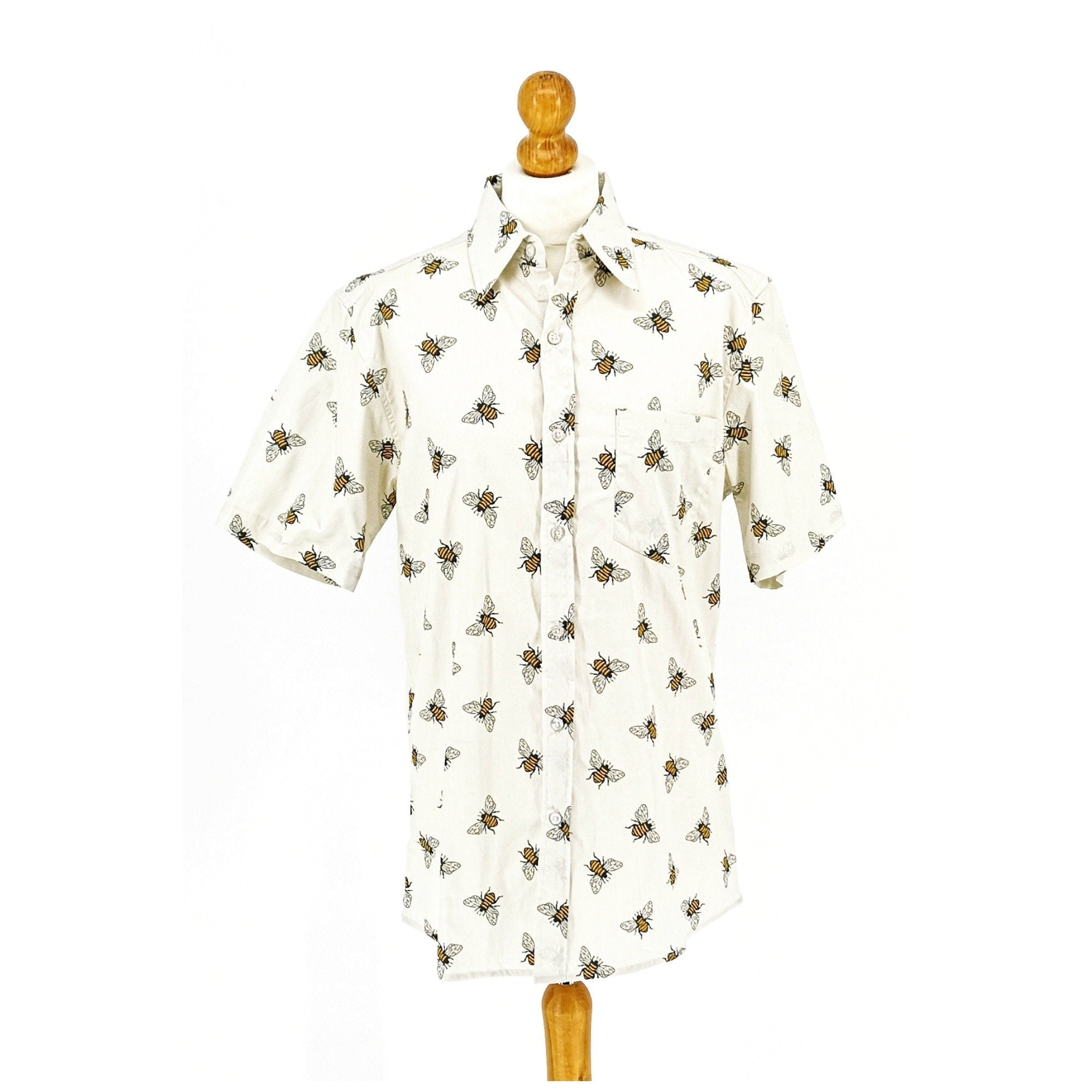Bee Print Shirt by Run and Fly - Minimum Mouse