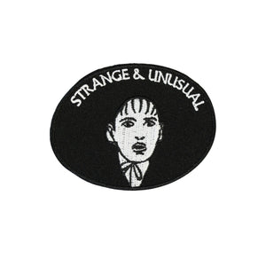 Beetlejuice Strange And Unusual Iron On Patch - Minimum Mouse