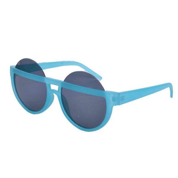 Big Round Half Frame Sunglasses - Minimum Mouse