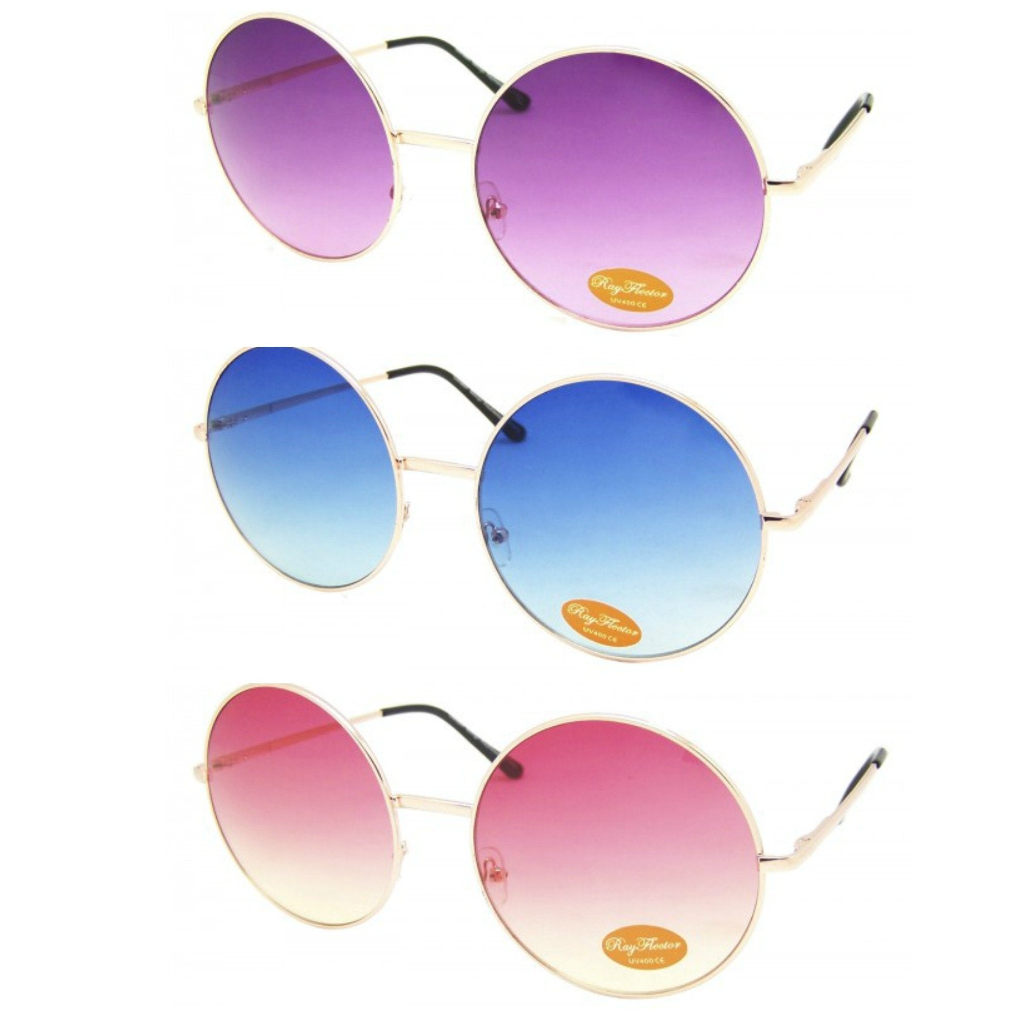 Big Round Ombré Sunglasses - Minimum Mouse