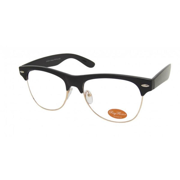 BLAKE Clear Lens Clubmaster Glasses - Minimum Mouse