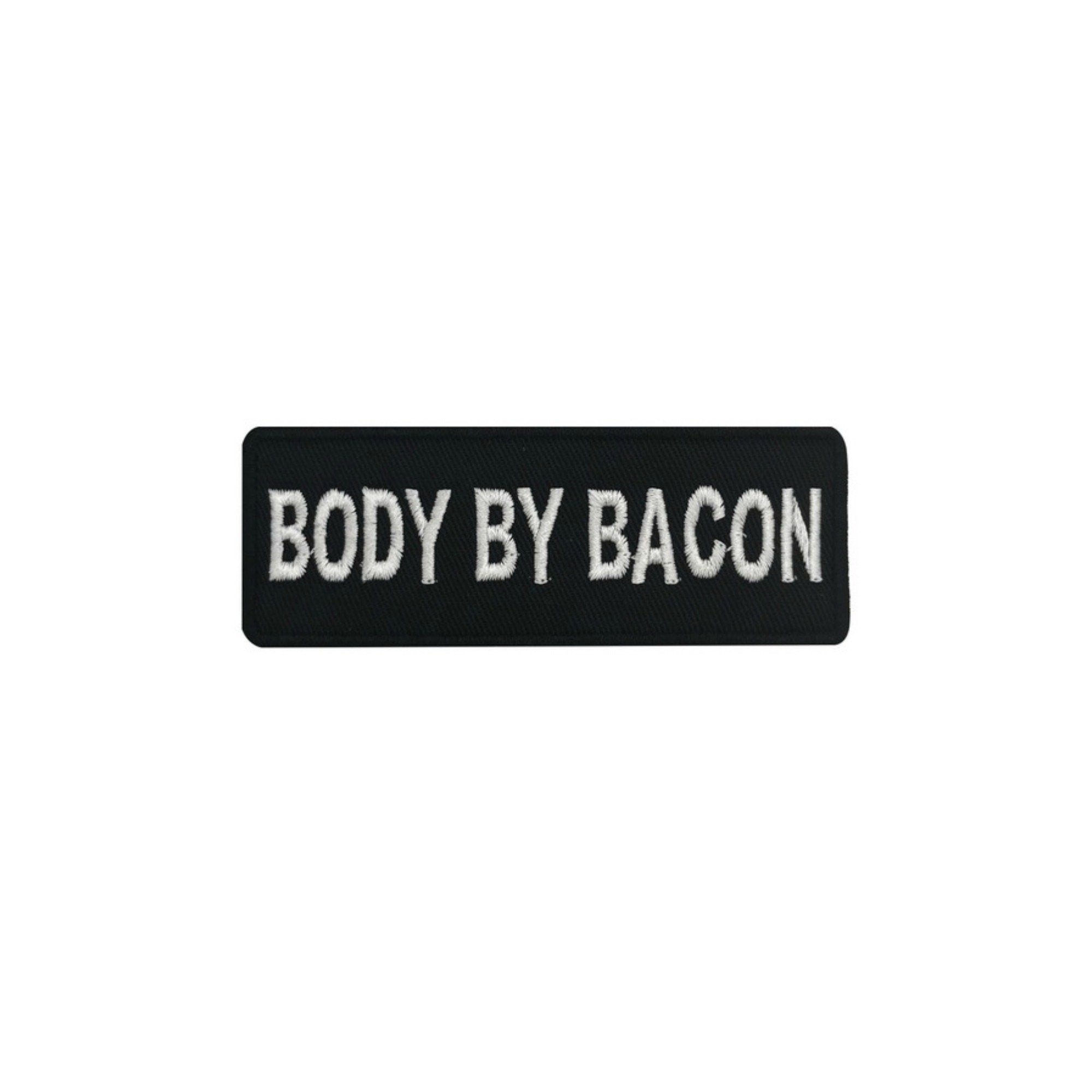 Body By Bacon Iron On Patch - Minimum Mouse