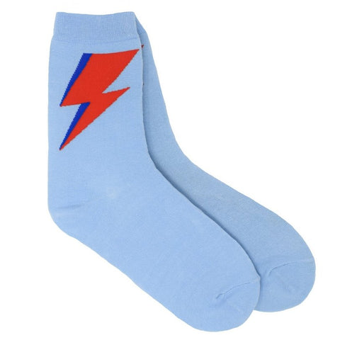 Bowie Lightning Bolt Socks - Minimum Mouse