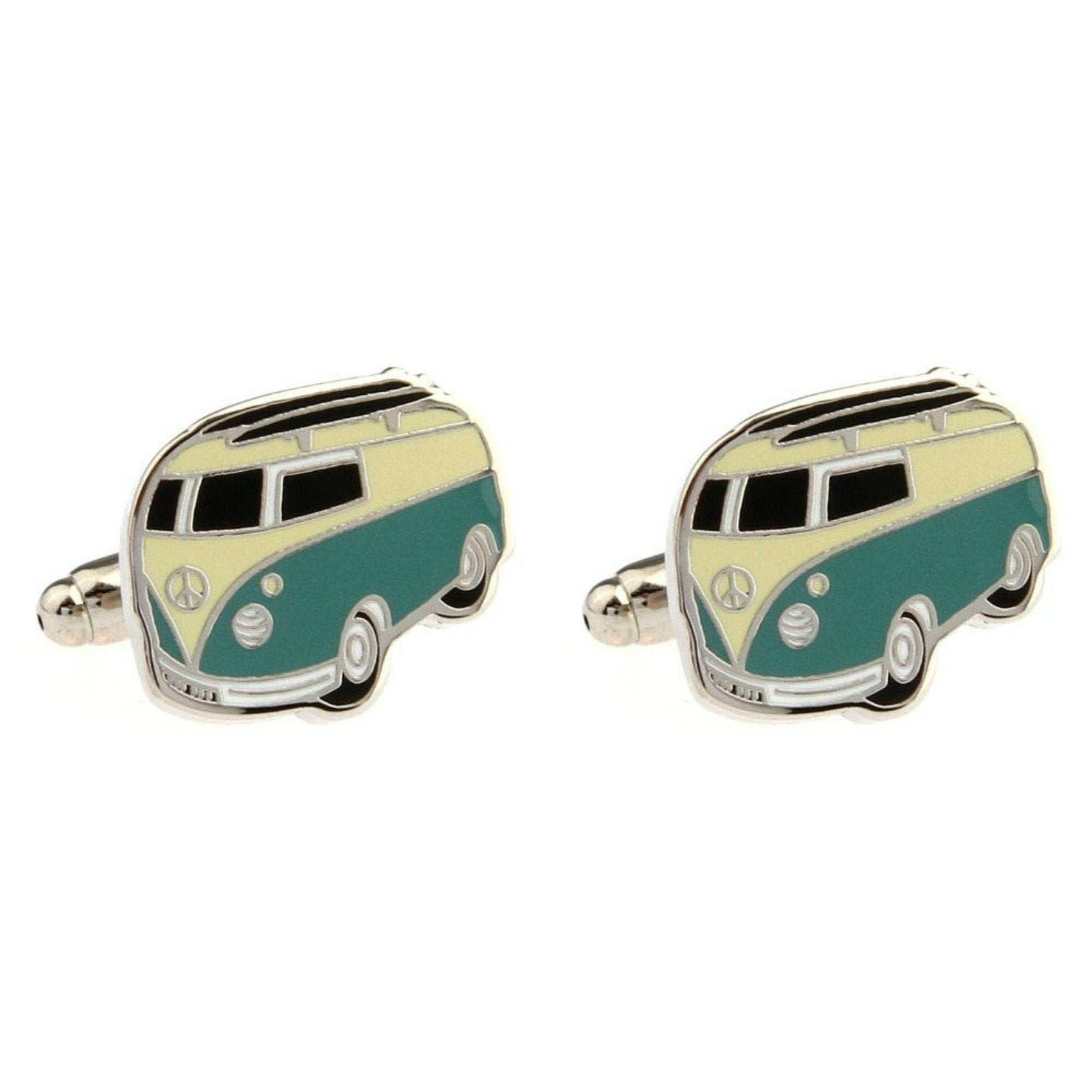 Camper Van Cufflinks - Minimum Mouse