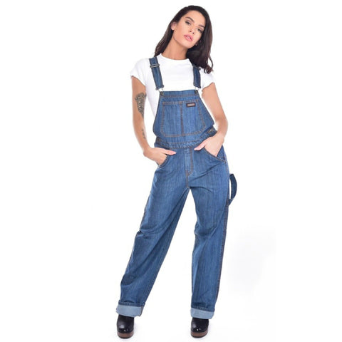 Carpenter Style Denim Dungarees by Run and Fly - Minimum Mouse