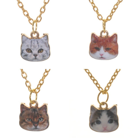 Cat Face Necklace - Minimum Mouse