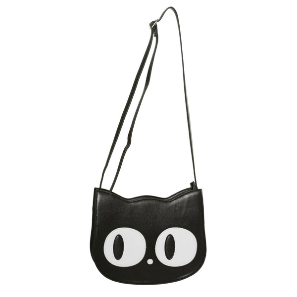 Cat Face Shoulder Bag by Banned Apparel - Minimum Mouse