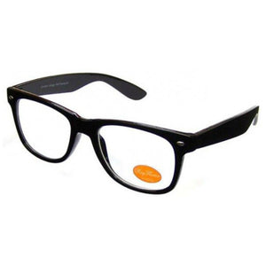 Clear Lens Geek Glasses - Minimum Mouse
