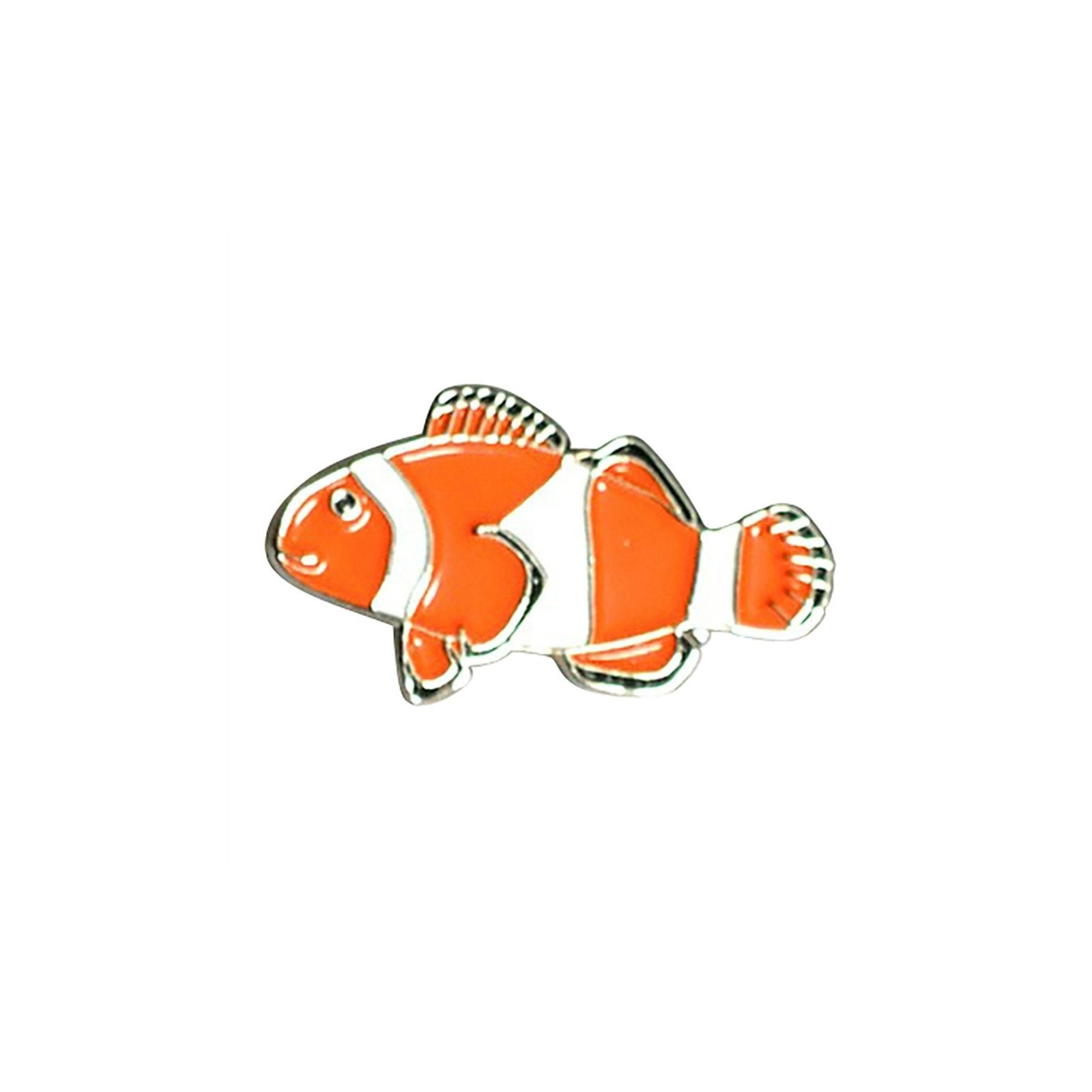 Clown Fish Enamel Lapel Pin Badge - Minimum Mouse