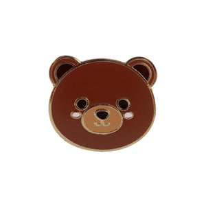 Cute Bear Enamel Lapel Pin Badge - Minimum Mouse