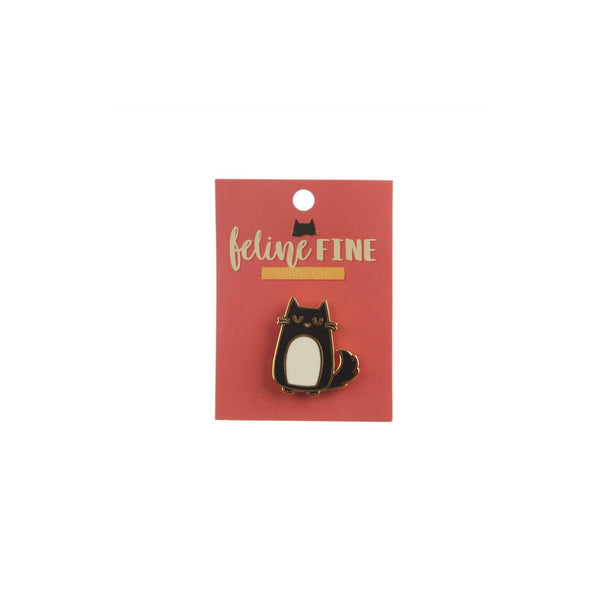 Cute Grumpy Cat Enamel Lapel Pin Badge - Minimum Mouse