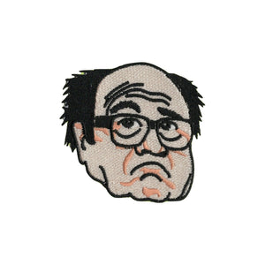 Danny DeVito Iron On Patch - Minimum Mouse