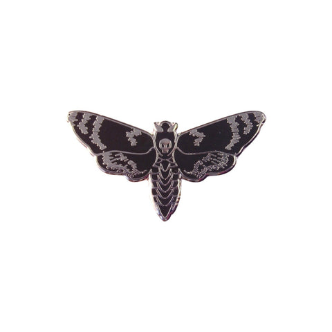 Death Head Moth Lapel Pin Badge - Minimum Mouse