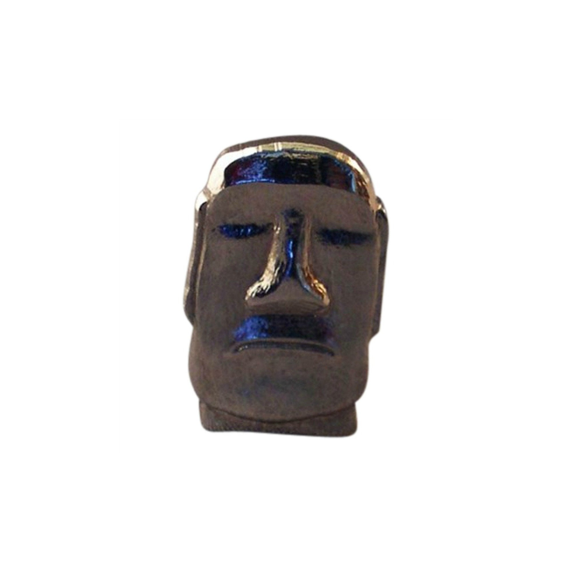 Easter Island Head Lapel Pin Badge - Minimum Mouse