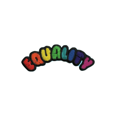 Equality Iron On Patch - Minimum Mouse