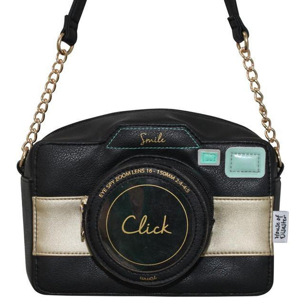 Eye Spy Camera Shoulder Bag by House of Disaster - Minimum Mouse