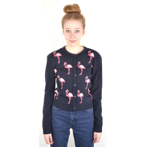 Flamingo Cardigan by Run and Fly - Minimum Mouse