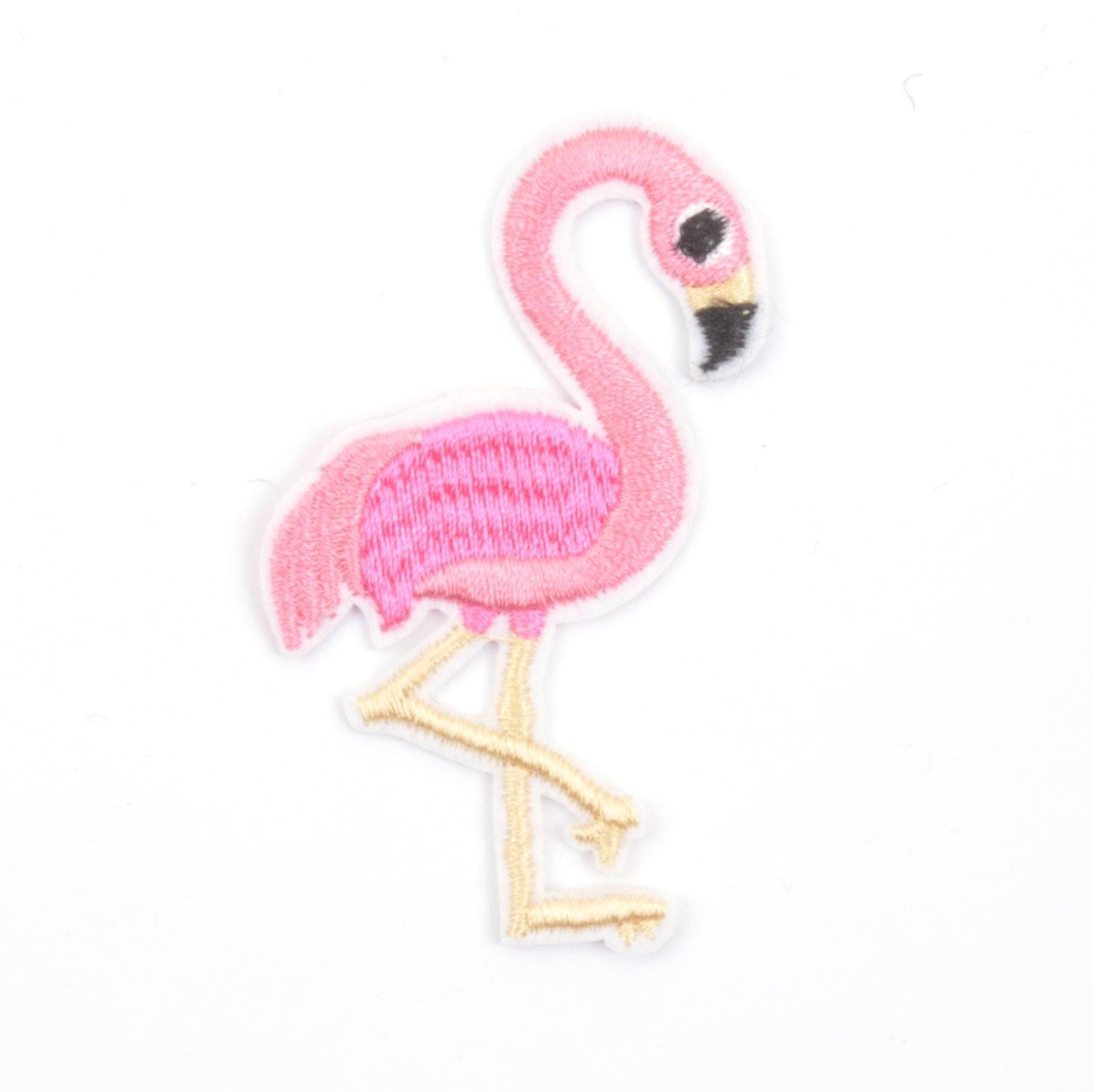 Flamingo Iron On Patch - Minimum Mouse