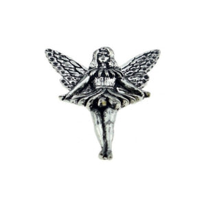 Flying Fairy Pewter Lapel Pin Badge - Minimum Mouse