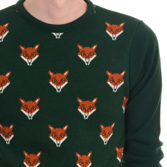 Fox Face Jumper by Run and Fly - Minimum Mouse