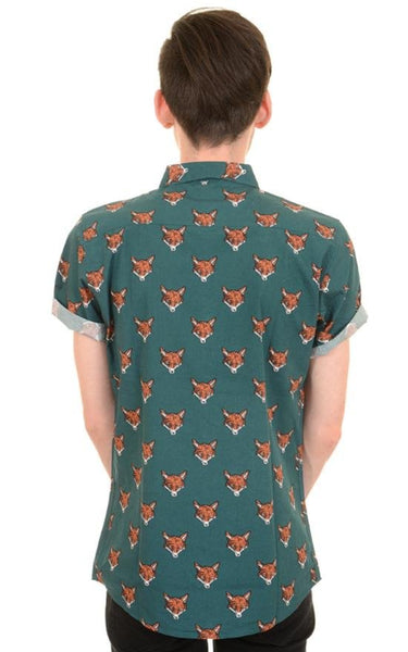Fox Print Shirt by Run and Fly - Minimum Mouse