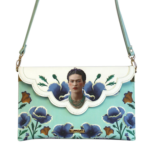 Frida Envelope Clutch Shoulder Bag by House of Disaster - Minimum Mouse