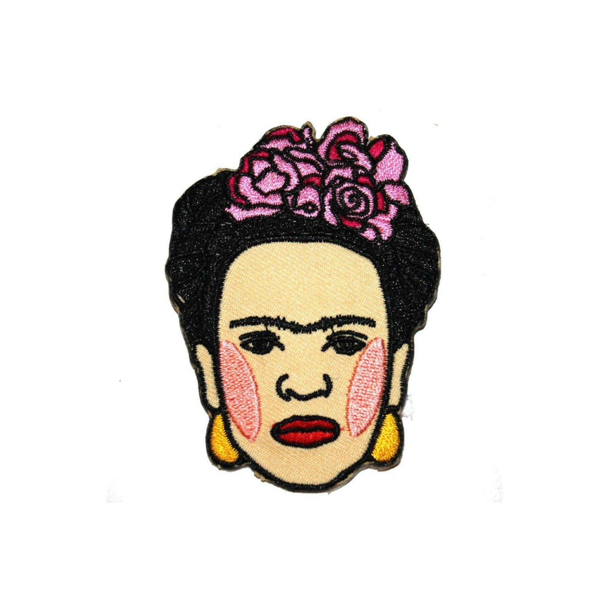 Frida Kahlo Iron On Patch - Minimum Mouse