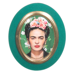 Frida Portrait Brooch by Love Boutique