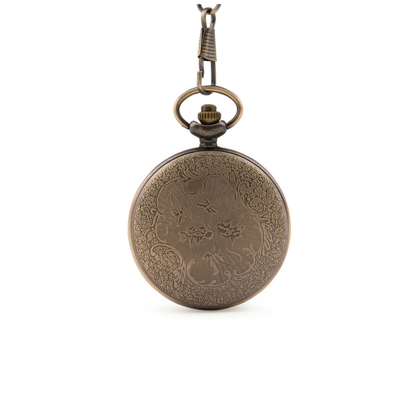 Glass Front Quartz Pocket Watch - Minimum Mouse