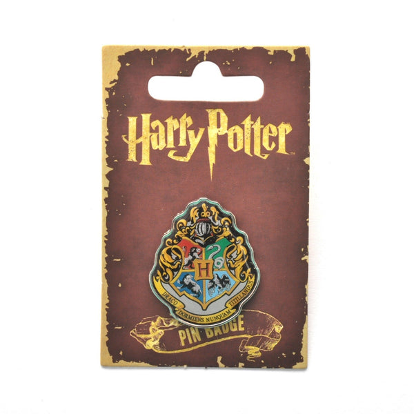 Harry Potter Hogwarts School Crest Lapel Pin Badge - Minimum Mouse