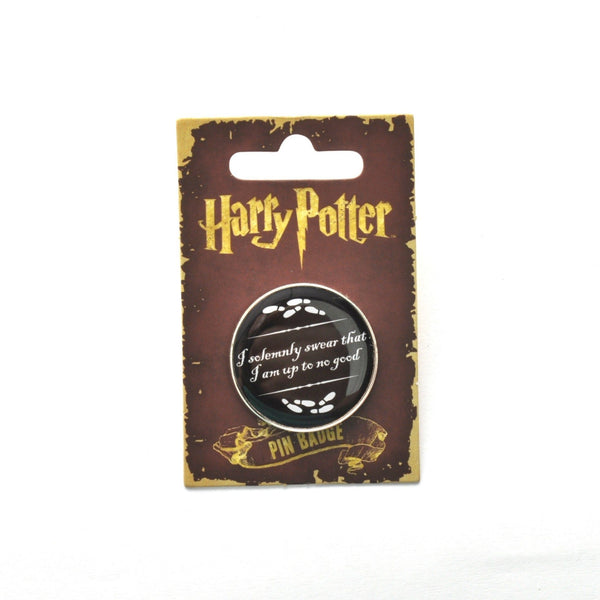 Harry Potter I Solemnly Swear Lapel Pin Badge - Minimum Mouse
