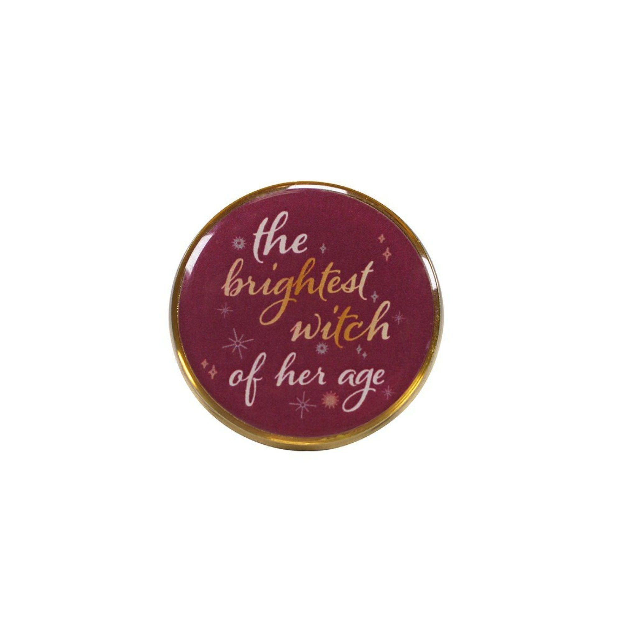 Harry Potter The Brightest Witch Of Her Age Lapel Pin Badge - Minimum Mouse