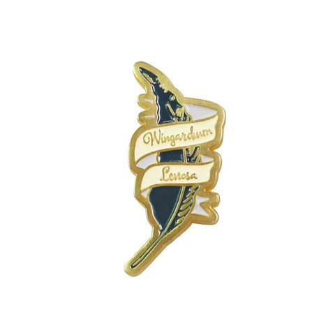 Harry Potter Wingardium Leviosa Lapel Pin Badge - Minimum Mouse