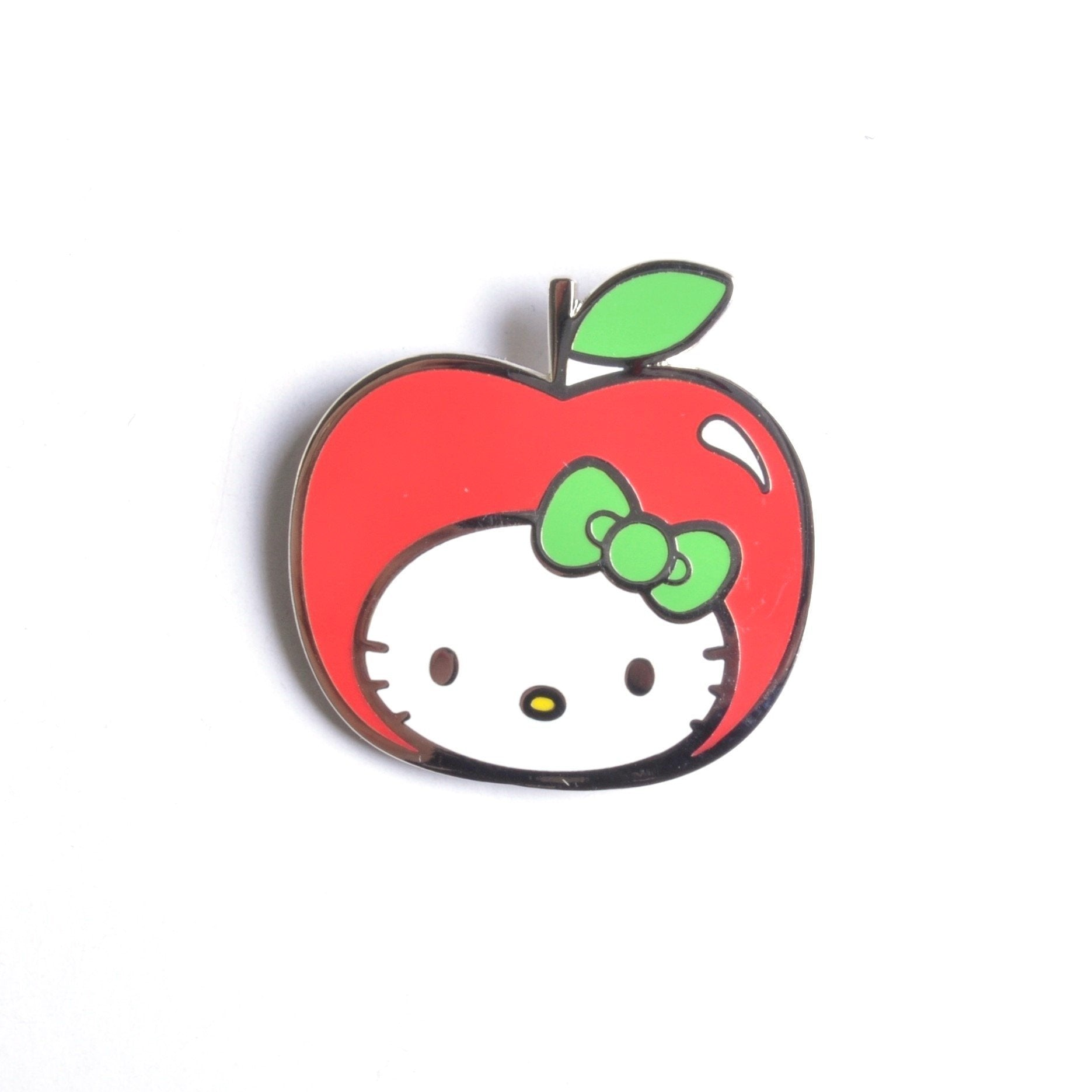 Hello Kitty Apple Head Lapel Pin Badge Set - Minimum Mouse