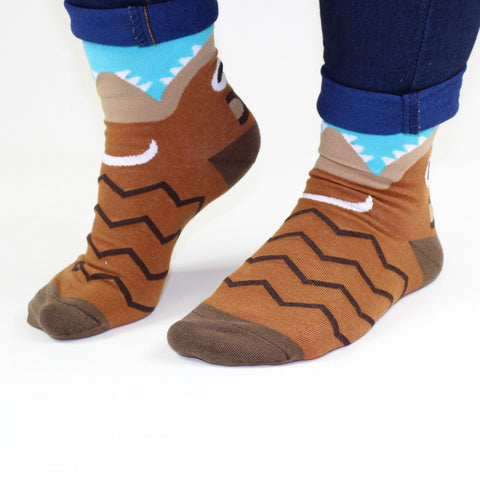 Hungry Honey Bear Socks - Minimum Mouse