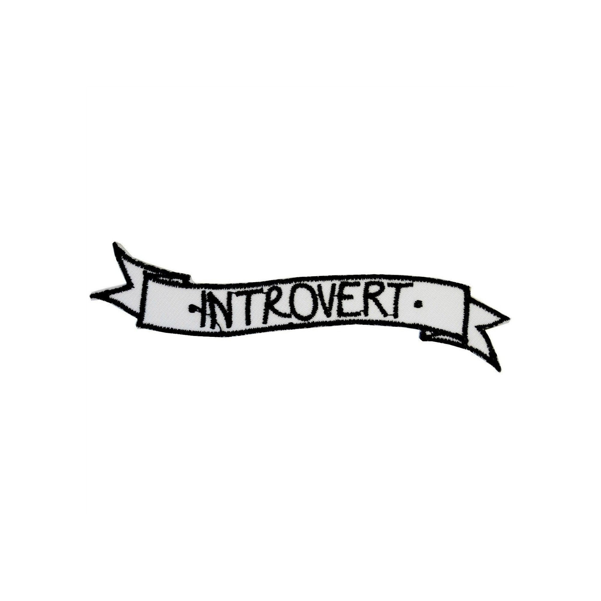 Introvert Iron On Patch - Minimum Mouse