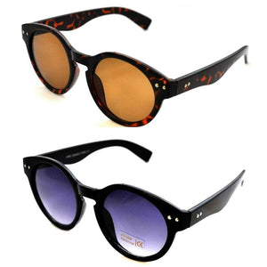 JAMES DEAN Retro Round Lens Sunglasses - Minimum Mouse