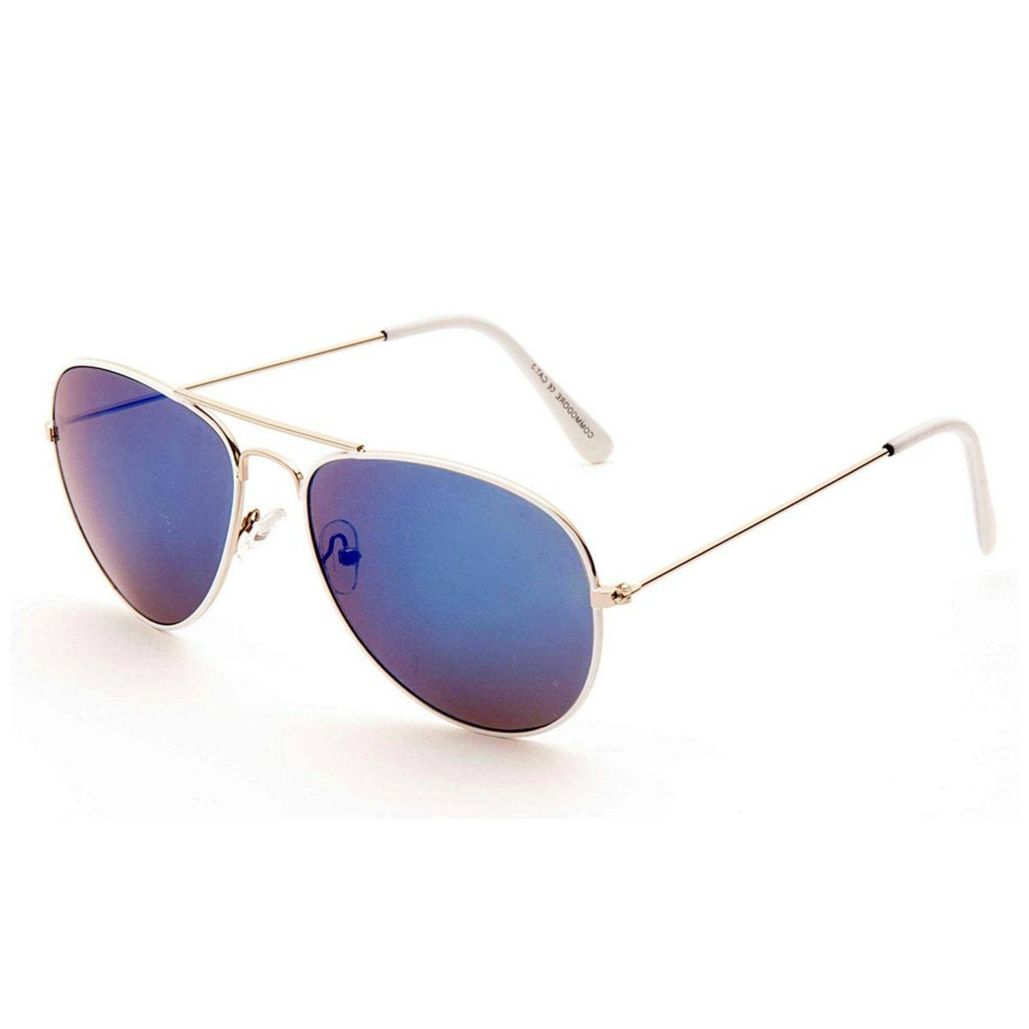 JETSTREAM Retro Mirrored Aviator Sunglasses - Minimum Mouse