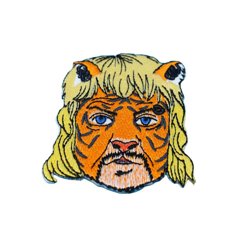 Joe Exotic Tiger King Iron On Patch - Minimum Mouse